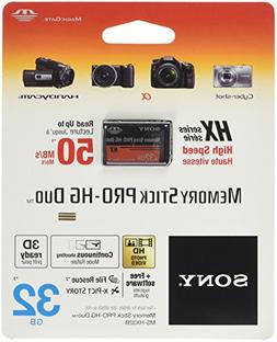 32GB Sony Memory Stick PRO-HG Duo HX High-Speed Memory Card