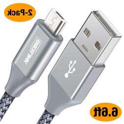 BrexLink Micro USB Cable Android, Micro USB to USB 2.0 Cable