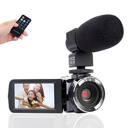 Microphone Remote Control Infrared Night Camcorder Camera,Ki