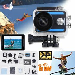 Mini 2'' Ultra HD 4K WIFI Action Sports Camera Waterproof He
