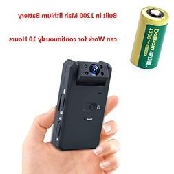 Hangang Mini Camera, HD 1080P Portable Covert Nanny Camera M