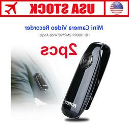 HD 1080P 90° Mini Camcorder Dash Cam Police Body Motorcycle