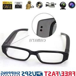 Mini HD 1080P/720P Spy Camera Glasses Hidden Eyewear DVR Rec