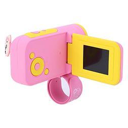 fosa Mini Kids Digital Video Camera,Plastic Portable Cute Ch