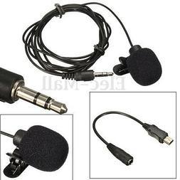 Mini Professional USB External Microphone Mic Collar Clip fo