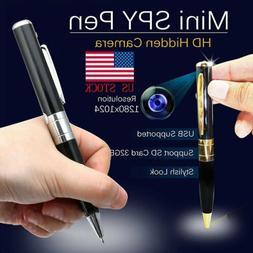 Mini Camera Pen USB Hidden DVR Camcorder Video Recorder Full