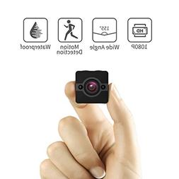 Mini Spy Camera Hidden Cam, Waterproof 1080P Full HD Cameras