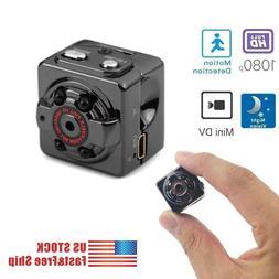 Mini Spy Hidden Camera 1080P Portable Small HD Nanny Cam US