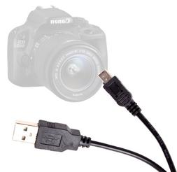 DURAGADGET Mini USB Digital Data Sync Cable for Canon EOS 10