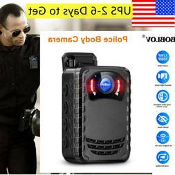 BOBLOV Mini Wearable Body Camera Night Vision Full HD 1296P