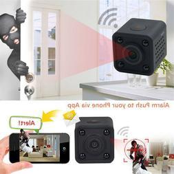 Mini Wireless IP Hidden Spy Camera WIFI HD For Home Surveill