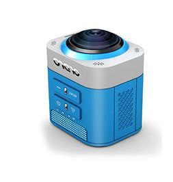 Mini Sport Camera, ORDRO 8MP 360 Degree Full View HD Camera