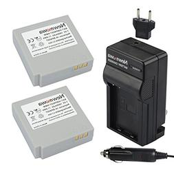 Newmowa IA-BP85ST Replacement Battery  and Charger kit for S