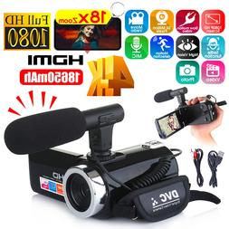 Multifunctional 4K HD Camera <font><b>Camcorder</b></font> I