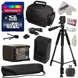 Must Have Accessory Kit for Canon HF S10 S11 S20 S21 S30 G10