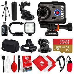 Veho Muvi K-Series K-2 PRO 1080p 12MP HD WiFi Waterproof Act