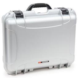 Nanuk 930 Waterproof Hard Case with Padded Dividers - Silver