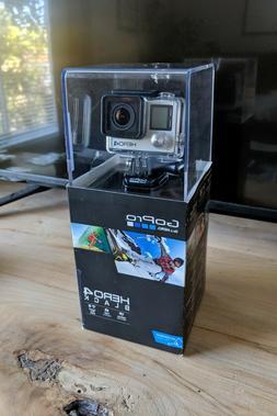 NEW GoPro HERO4 Black - 4k / 1080p@120fps - Waterproof + Rec