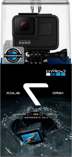NEW! GoPro HERO7 Black Action Camera SEALED BOX 4K gimbal-li