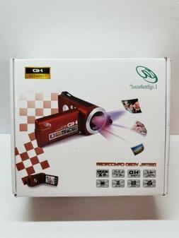 New Lightahead High-Definition HD 720p Digital Camcorder Fli