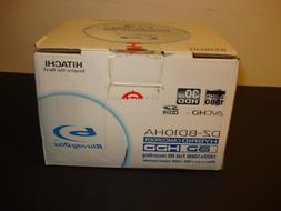 new open box Hitachi DZ-BD10HA BLU-RAY DISC hybrid camcorder