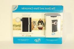 NIB Electronics Flip Video Ultra 30 Minute Camcorder 1GB Mem