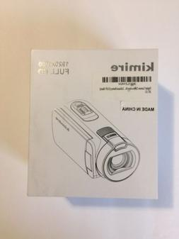 NIB Kimire Digital Camera Camcorder 1080P 24 MP 16X Powerful