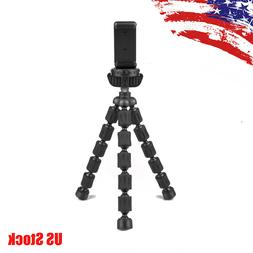 Octopus Tripod Stand Holder and Phone Clip for GoPro Hero 6