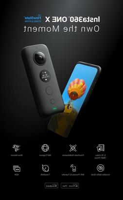 Insta360 One X 18MP-Best in class 5.7K video quality-WIFI-CA