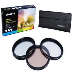 Polaroid Optics 82mm 3 Piece Special Effect Camera/Camcorder
