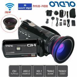 ORDRO 270° 1080P 18X Digital Zoom with WIFI Night Vision Vi