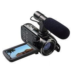 Ordro Full HD Digital Video Camera with External MIC, Model