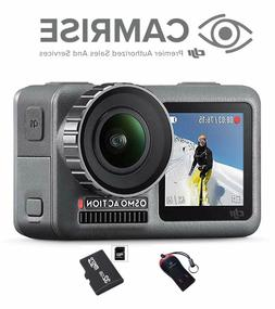 DJI Osmo Action Camera with 2 displays, 32GB Micro SD and Ca