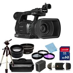 Panasonic AG-AC160A AVCCAM HD Handheld Camcorder with 14 Pie