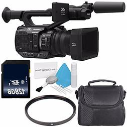 Panasonic AG-UX90 4K/HD Professional Camcorder  + 128GB SDXC