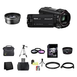 Panasonic HC-W850K Digital HD Camcorder  2X Telephoto Lens 6