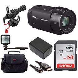 Panasonic HC-V800 Full HD Camcorder Video Creator Bundle
