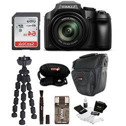 Panasonic LUMIX FZ80 4K Long Zoom Camera  + 64GB Accessory B