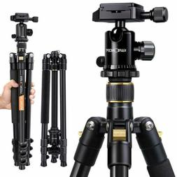 "Professional 62"" Portable Tripod Ball Head for Canon Nikon D"