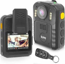 Pyle PPBCM92 Compact & Portable HD Body Police Camera Night