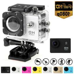 Full HD 1080P Action Camera Camcorder Waterproof Sport Video