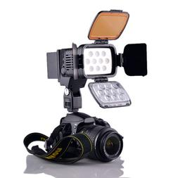 Professional 10-LED Video Light Camera Camcorder Photography
