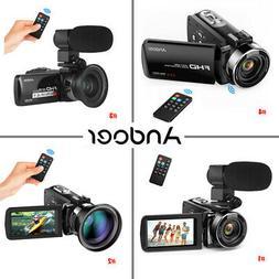 Andoer Professional Handheld Digital Camera Video Camcorder