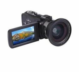 Professional HDV Digital 4K Video Camcorder with IR Night Vi