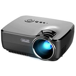 Hausbell Projector, Mini Projector Portable Video LED Projec