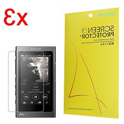 6X Savvies Ultra-Clear Screen Protector for Sony FDR-AX53 Simple Assembly accurately Fitting Residue-Free Removal