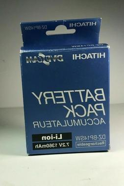 RECHARGEABLE Camcorder Battery for Hitachi DZ-BP14SW 7.2 Vol