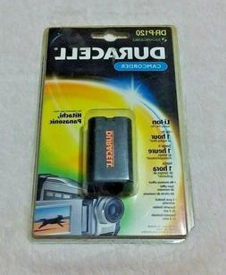 Duracell Rechargeable Camcorder Battery for Hitachi or Panas