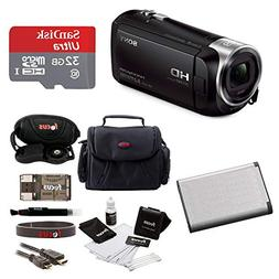 Sony HD Video Recording HDRCX405 Handycam Camcorder Bundle