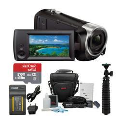 Sony HD Video Recording HDRCX440 HDRCX440B Handycam Camcorde